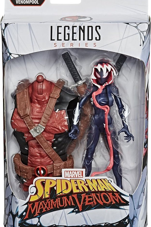 Marvel Legends Series Ghost-Spider Maximum Venom with Venompool Torso