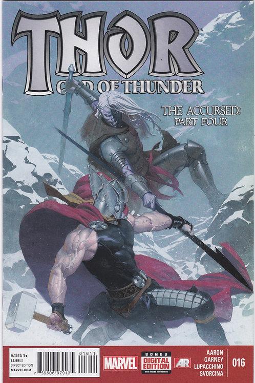 Thor God of Thunder #16