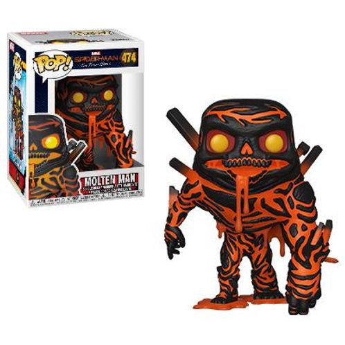 Funko Spider-man Far From Home Molten Man Pop! Vinyl Figure #474
