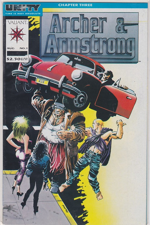 Archer & Armstrong #1