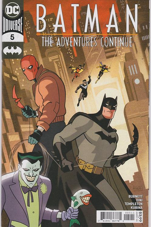 Batman The Adventures Continue #5 (of 7)