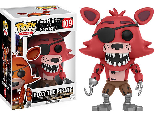 Funko Pop! Games Five Nights at Freddy's Foxy The Pirate #109