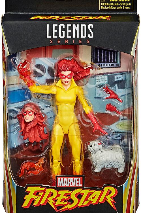 Marvel Legends Series 6-Inch Firestar Action Figure with Dog