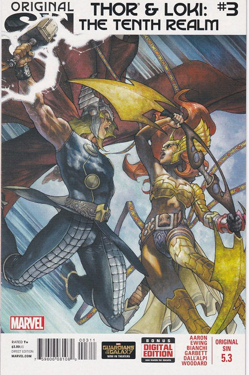 Original Sin #5.3 (Thor and Loki The Tenth Realm)
