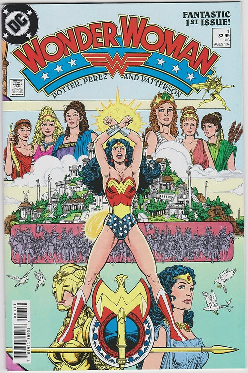 Wonder Woman (1987) Face Smile Edition