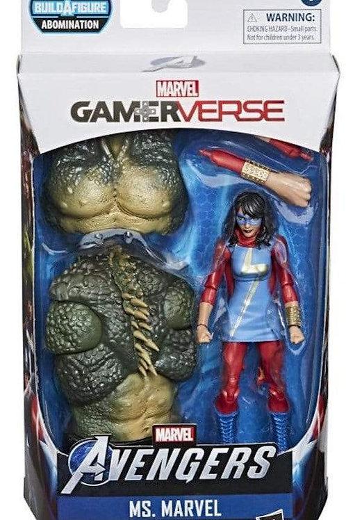 Marvel Legends Gamerverse 6-Inch Ms. Marvel Action Figure with Abomination Torso