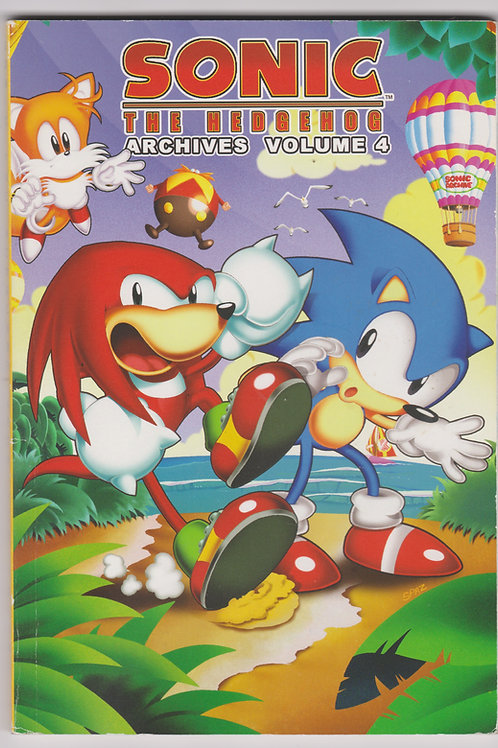 Sonic the Hedgehog Archives, Vol. 4 (1st Printing)