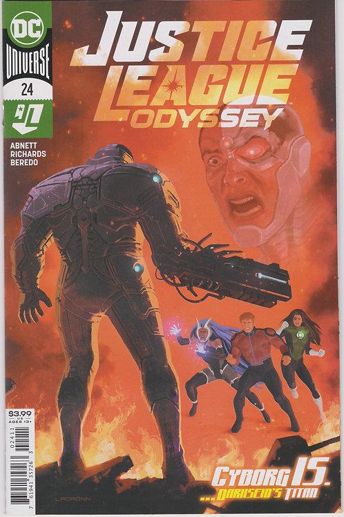 Justice League Odyssey #54