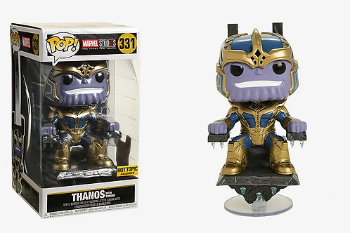 Funko Pop! Marvel Studios First Ten Years Thanos with Throne Hot Topic Exclusive