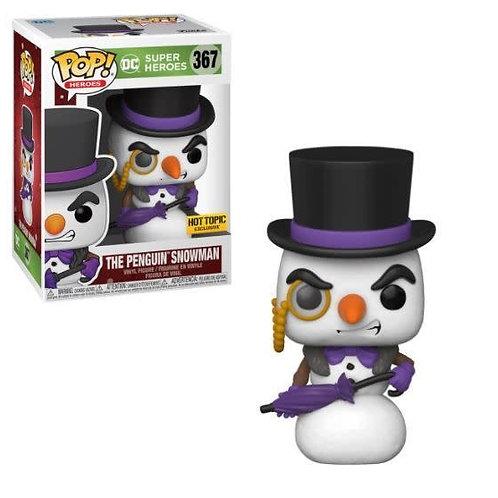 Funko DC Super Heroes The Penguin Snowman Hot Topic Exclusive Pop!  #367
