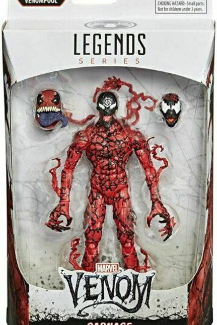 Marvel Legends Series Carnage with Venompool head
