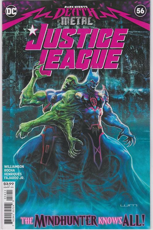 Justice League #56 (Dark Nights Death Metal)