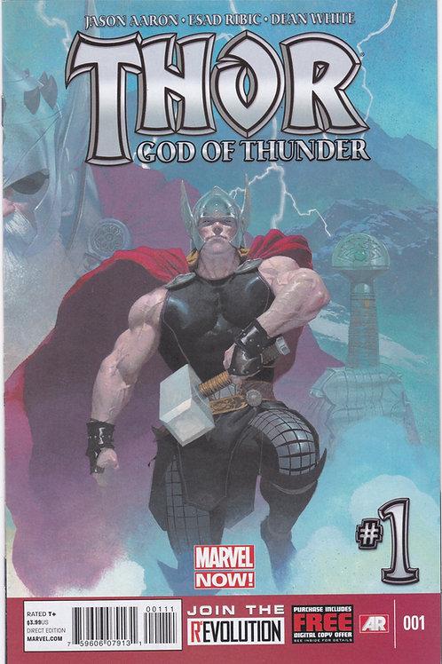 Thor God of Thunder #1