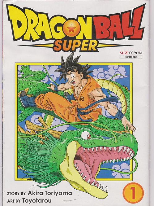 Dragon Ball Super/ Dragon Ball Vol 1 Comic Con Flip Promo Comic