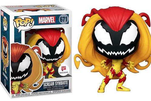 Funko Marvel Scream Symbiote Walgreens Exclusive Pop!  #670