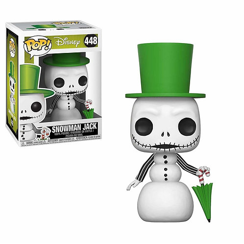 Funko Disney Nightmare Before Christmas Snowman Jack Pop!  #448