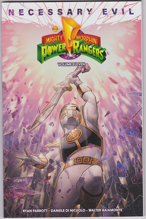 Mighty Morphin Power Rangers Necessary Evil Volume 11 Softcover Graphic Novel