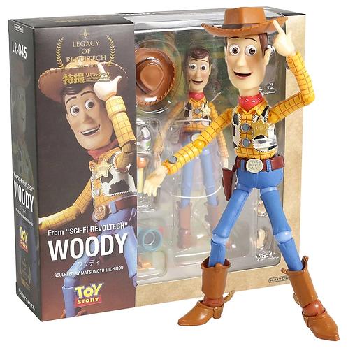 Walt Disney Toy Story: SCI-FI Revoltech LR-045 Woody Action Figure