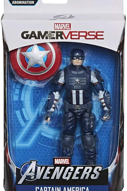 Marvel Legends Gamerverse 6-Inch Captain America Action Figure with Shield