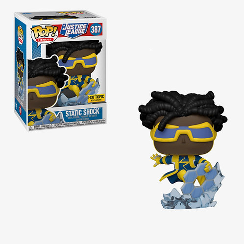 Funko Pop! Justice League Static Shock Hot Topic Exclusive #387