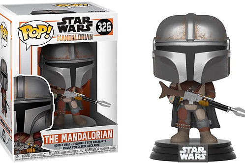 Funko Pop! Star Wars The Mandalorian Vinyl Figure #326 (Damaged Box)