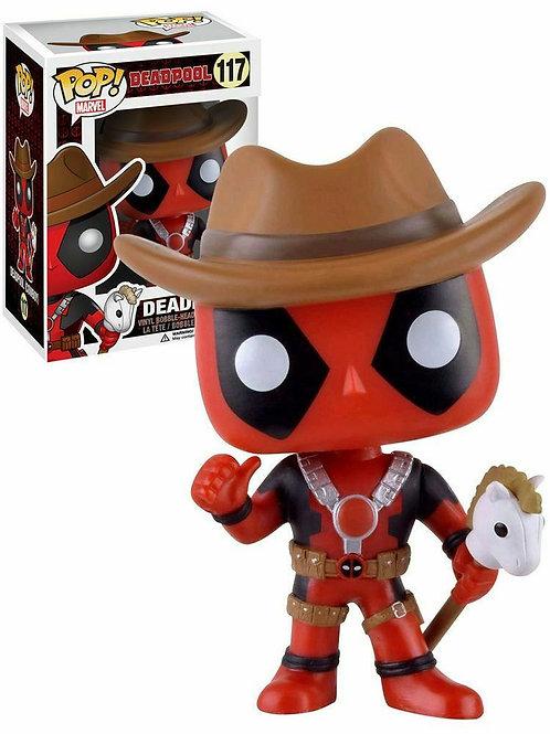 Funko Pop! Deadpool Cowboy Deadpool 2016 Summer Convention Exclusive #117