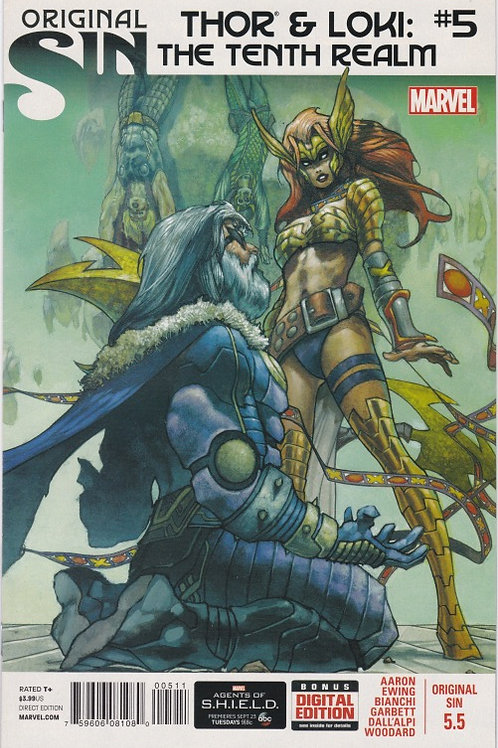Original Sin #5.5 (Thor and Loki The Tenth Realm)