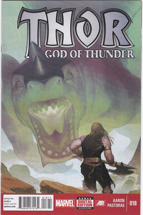 Thor God of Thunder #18