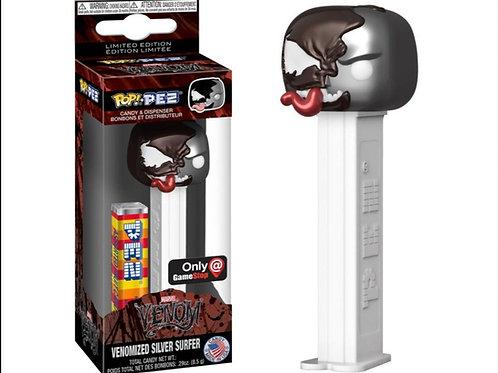 Funko Venomized Silver Surfer GameStop Exclusive Pop PEZ! Candy Dispenser