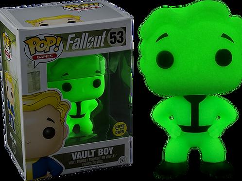 Funko Pop! Games Fallout Vault Boy Glow In The Dark Vinyl Figure #53
