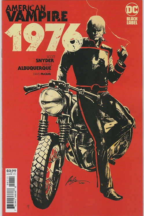 American Vampire 1976 #1 (of 9)