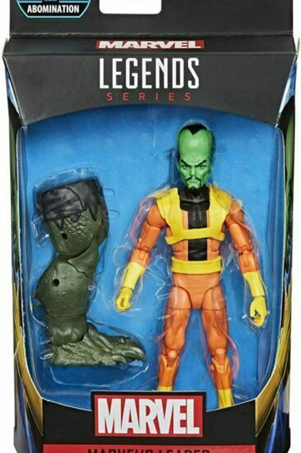 Marvel Legends Series 6-Inch Leader Action Figure with Abomination Leg