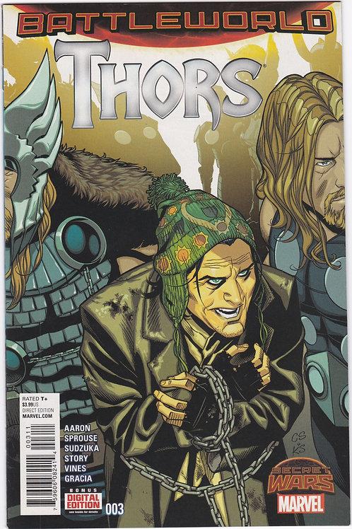 Thors : Battleworld #3
