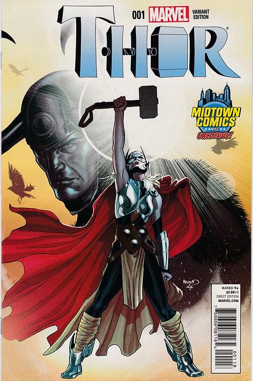 Thor #1 (4th Series) Midtown Variant