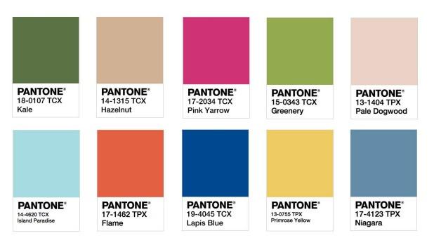 Pantone announces spring 2017 colours