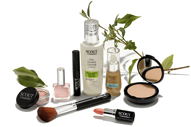 SCOUT Organic Active Beauty; The Rebrand