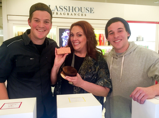 Glasshouse and The Block make sell-out soap