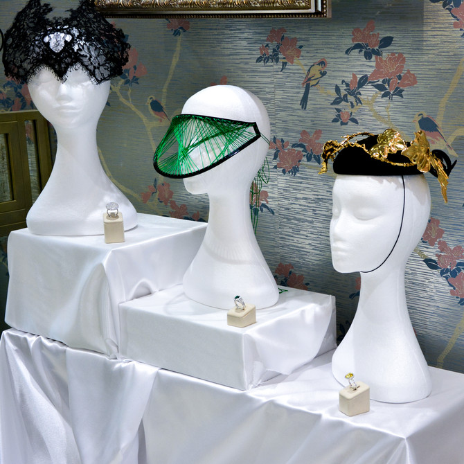 Matthew Ely collaborates with leading Sydney Milliner