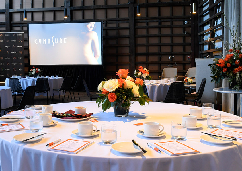 Cynosure event at Ovolo