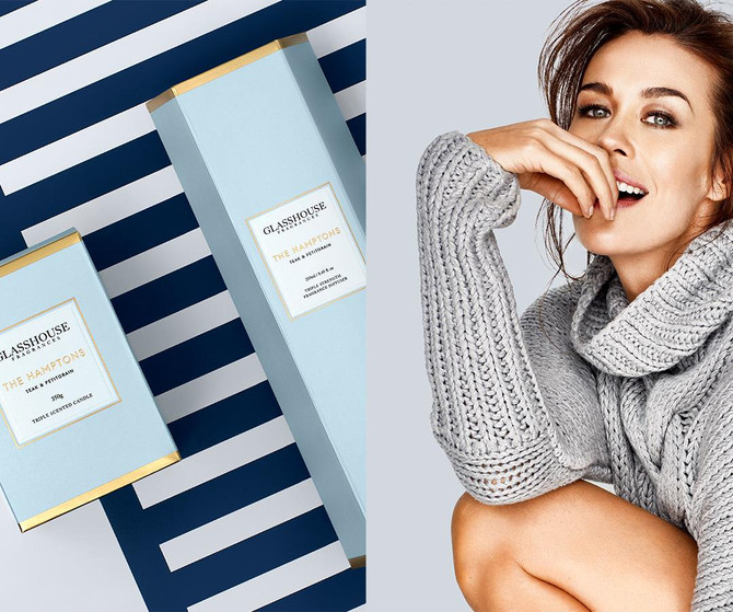 Glasshouse collaborates with Megan Gale
