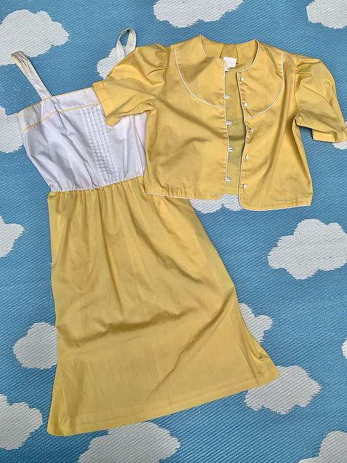 1970S TWO PIECE DRESS SET