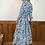 Thumbnail: FLORAL COTTAGE CORE DRESS