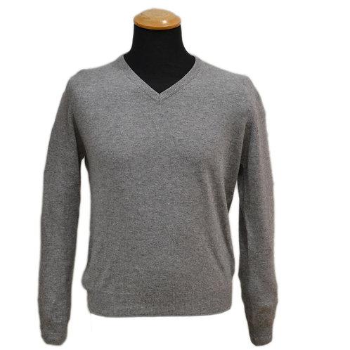 Maglione di  lana cashmere con  scollo  a V