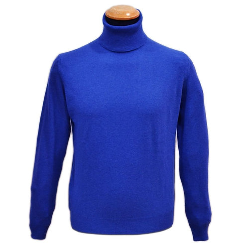 Turtleneck sweater in cashmere wool. Different colors available