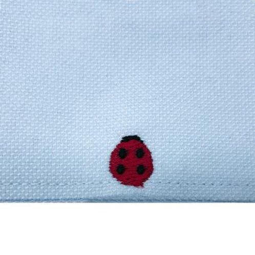 EMBROIDER THE LADYBIRD BRINGS LUCK