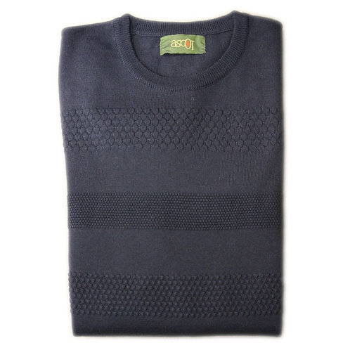 Merino wool sweater, honeycomb processing