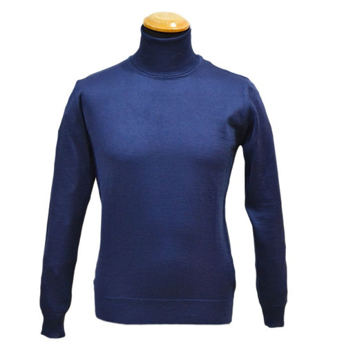 Sweater turtleneck in  merino wool sweater - available in different colors