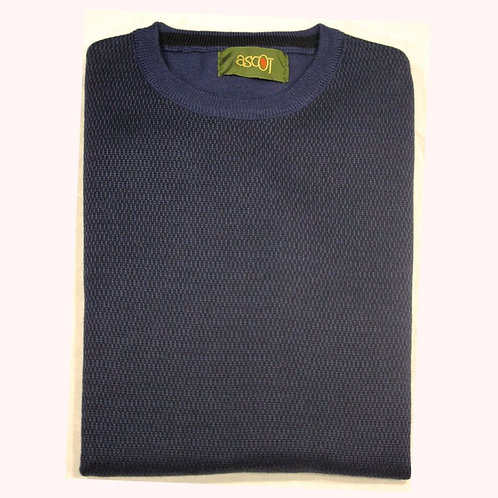 Avion men's sweater - round neck, merino wool