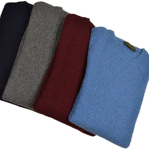 Men's sweater in round neck wool. Available in different colors