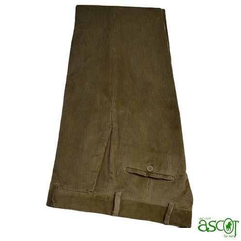 Pantaloni di velluto beige